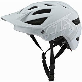 Troy Lee Designs A1 Mips Helmet classic light gray/white